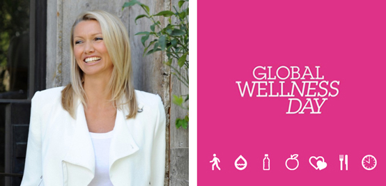 Global Wellness Day 11. juni 2016 - dedisert til Charlene Florians gjerning