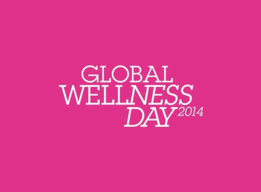 Charlene Florian på Global Wellness Day 2014